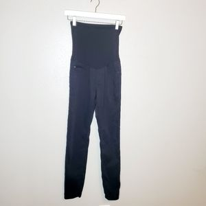 AG Adriano Goldschmied black maternity pants